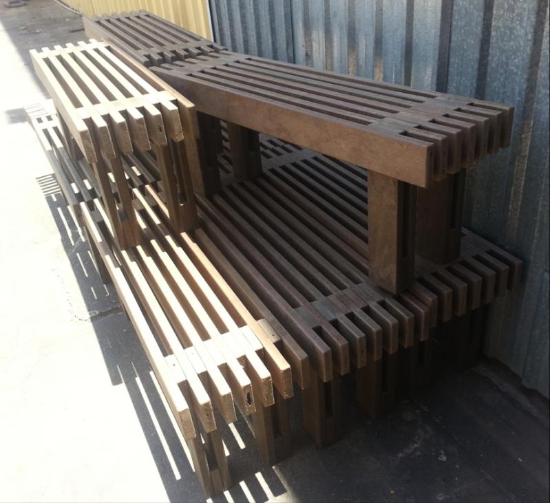 Cadeira de Madeira Ecológica de Jardim em Alphaville - Cadeira de Madeira em São Paulo