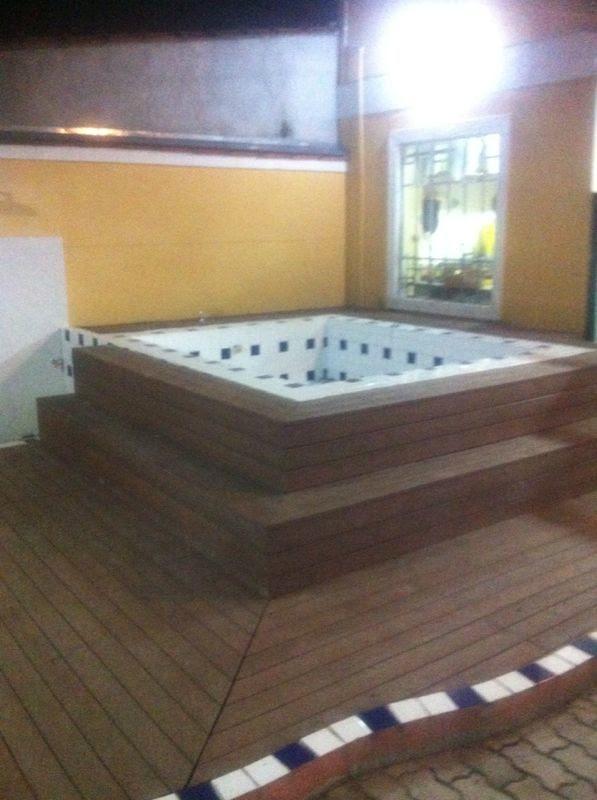 Deck de Madeiras Plásticas para Spa Jockey Club - Deck para Spa em SP