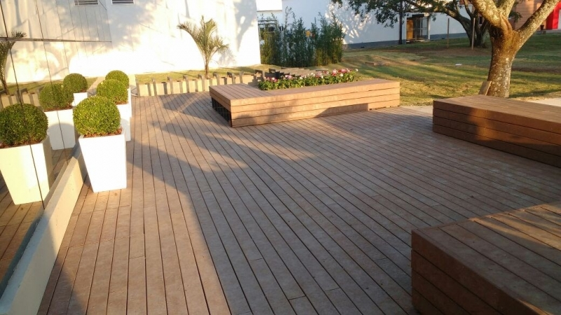 Deck De Madeira Base Pl 225 Stica Rewood