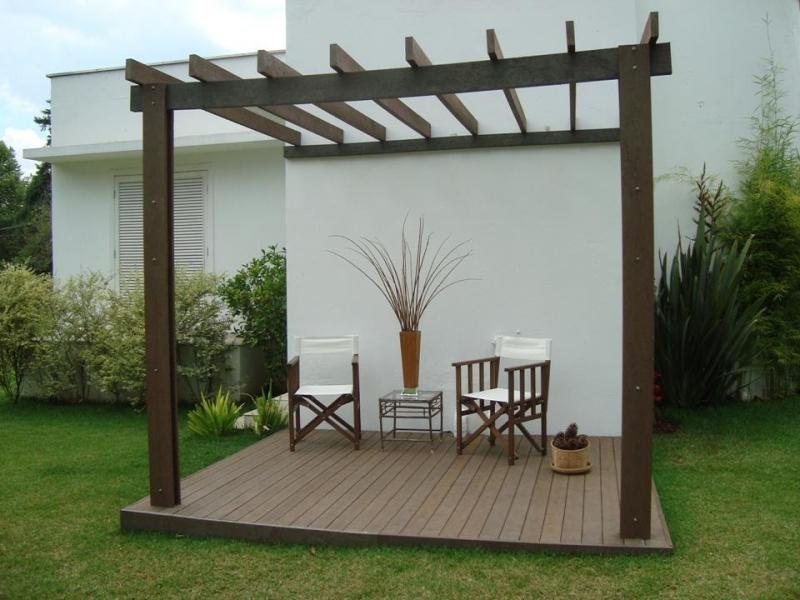 Onde Encontrar Deck de Madeira no Jardim na Santa Isabel - Deck de Madeira no Jardim
