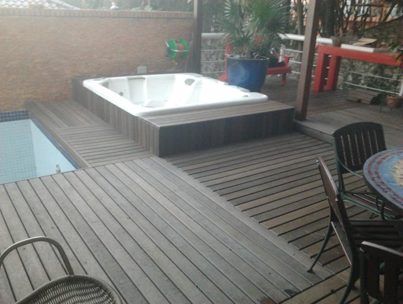 Onde Encontrar Deck Ecológico para Spa na Vila Medeiros - Deck para Spa em SP