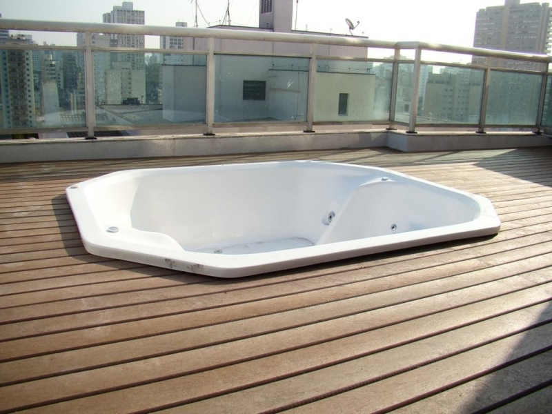 Piso Deck Ecológico para Spa Preço Jardim Bonfiglioli - Deck para Spa em SP