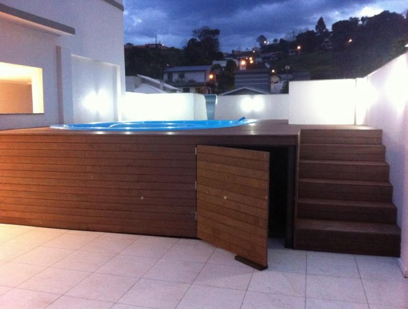 Piso Deck Ecológico para Spa Pacaembu - Deck para Spa em SP