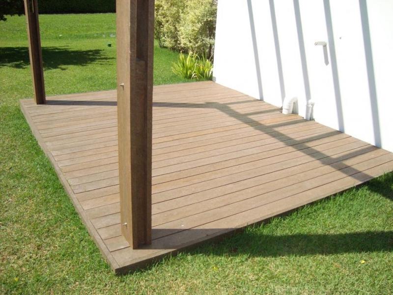 Piso Deck em PVC Brooklin - Deck Ecológico PVC