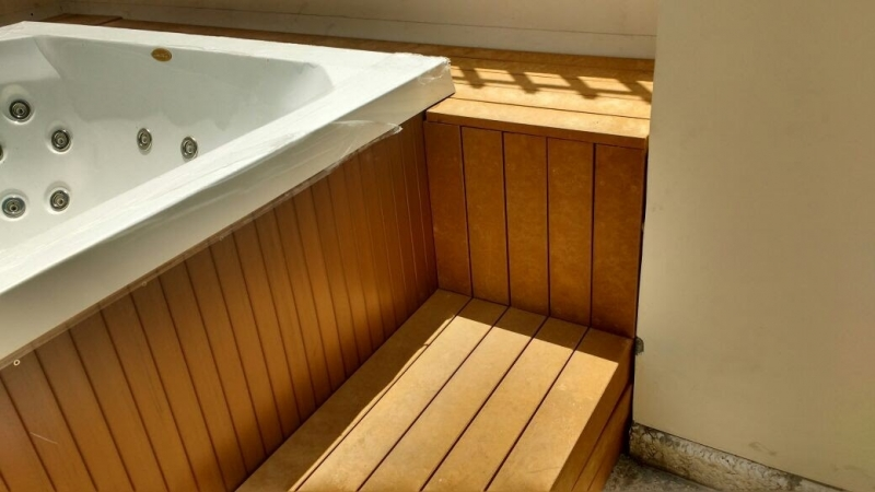 Pisos Deck de Madeiras para Spa na Vila Anastácio - Deck para Spa em SP
