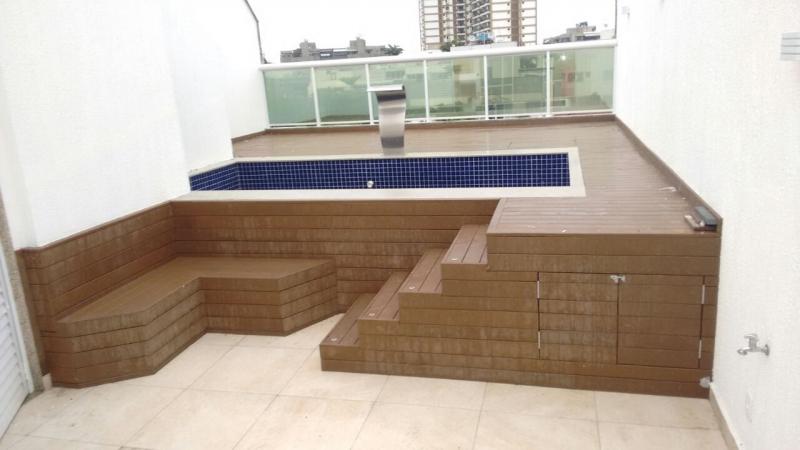 Deck Para Piscina Em S 227 O Paulo Rewood