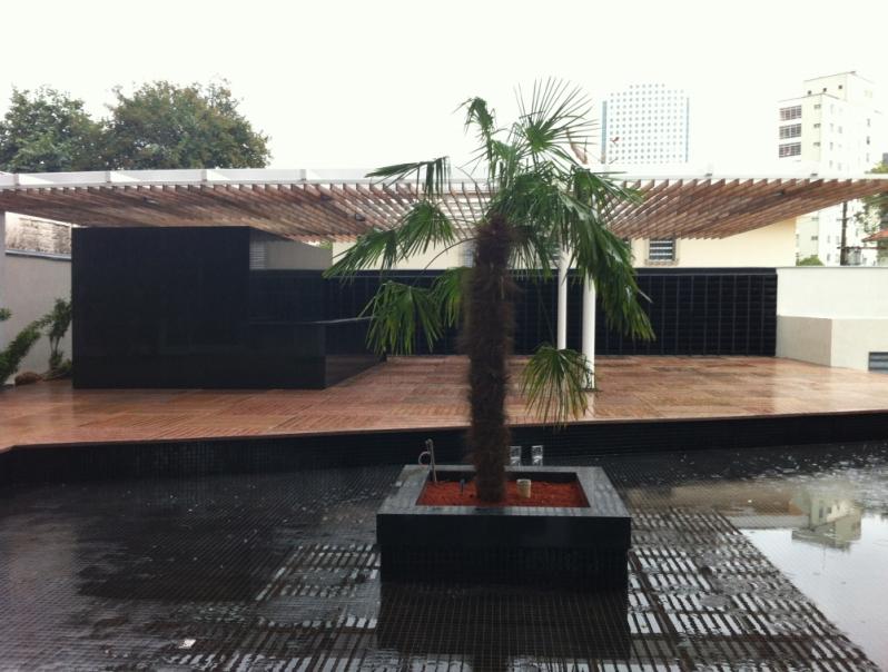 Quanto Custa Deck Modular de Madeira Morro Grande - Deck de Madeira Redondo
