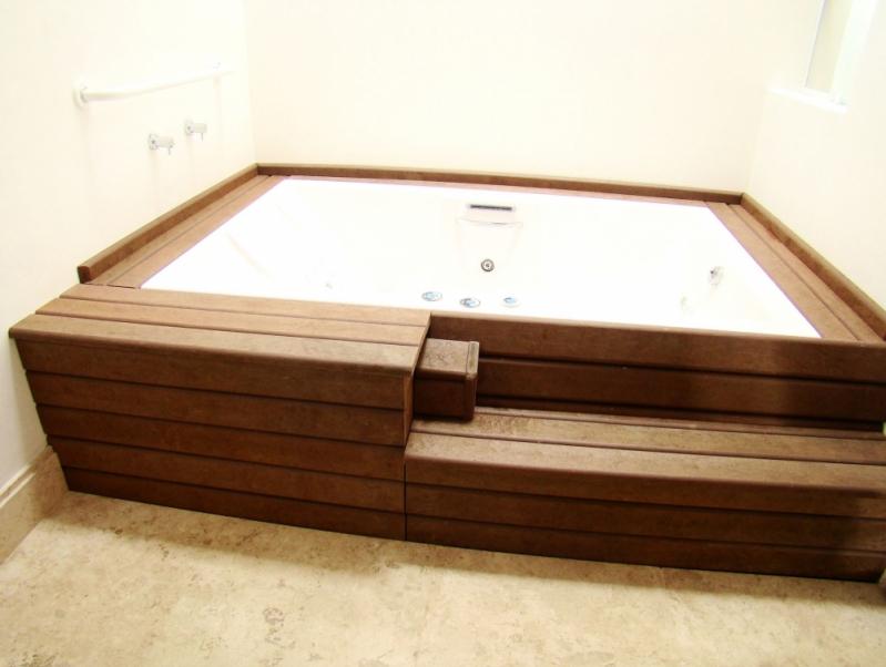 Quanto Custa Deck para Piscina de Madeira Plástica na Fortaleza - Deck para Piscina de Madeira Plástica