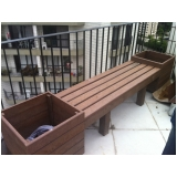 banco de madeira em SP preço Jardim Iguatemi