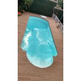 deck de madeira ecológica para piscina preço em Jaraguá