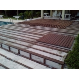 deck de madeira estrutura preço na Cocaia