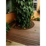 deck de madeira estrutura Suzano