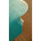 deck de madeira para piscina de plástico preço Jardim São Paulo
