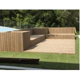 deck de madeira plástica em São Paulo preço Jardim Bonfiglioli