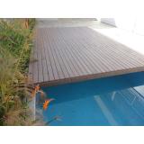 deck de madeira plástica em São Paulo Sacomã