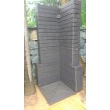 deck de madeira plástica para banheiro preço em Santo André