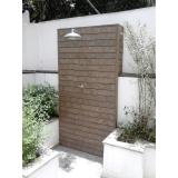 deck de madeira plástica para banheiro Saúde