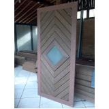 deck de madeira plástica para parede em Jacareí