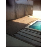 deck de madeira preço Ribeirão Preto
