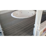 deck de madeira redondo preço Centro