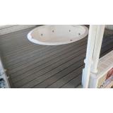 deck de madeira redondo preço na Santa Cecília