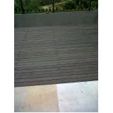 deck de madeira textura em Cajamar