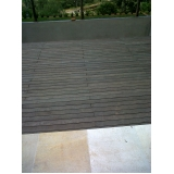 deck de madeira textura na Vila Formosa