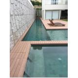 deck de madeiras para piscinas na Bela Vista