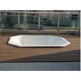 deck de madeiras para spa na Água Azul