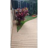 deck de madeiras plásticas em São Paulo Jardim Bonfiglioli