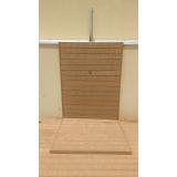 deck de madeiras plásticas para banheiro Centro
