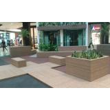 deck de madeiras plásticas Jardim Presidente Dutra