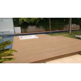 deck de plástico madeira ecológica preço em Moema