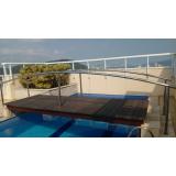 deck modular plástico