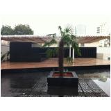 deck de plásticos para jardins Suzano