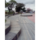 deck ecológico PVC em Moema