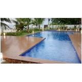 deck ecológico para piscina