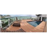 deck ecológicos para piscinas em Paulínia