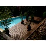 deck em PVC para piscina preço em Morros