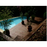 deck em PVC para piscina preço Jaguaré