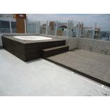deck fibra ecológicas Jardim Aracília