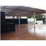 deck modular de madeira preço Rio Grande da Serra