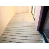 deck para apartamentos Jardim Bonfiglioli