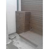 deck para paredes de sala na Vila Romana