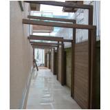 deck de madeira plástica para parede