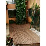 deck para paredes exterior Jardim Vila Galvão