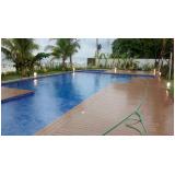 deck para piscina em São Paulo preço Tanque Grande