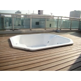 deck para piscina em SP preço em Alphaville