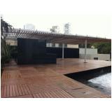 deck para piscina residencial preço em Mairiporã