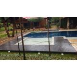 deck para piscinas de plásticos em Piqueri